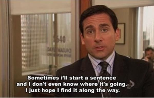 michael scott job interview