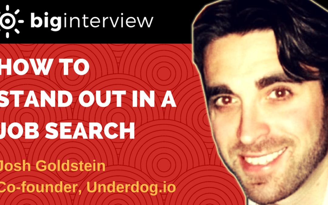 Interview – Josh Goldstein | Co-founder Underdog.io
