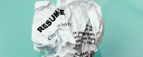 Creating Really Good Resumes