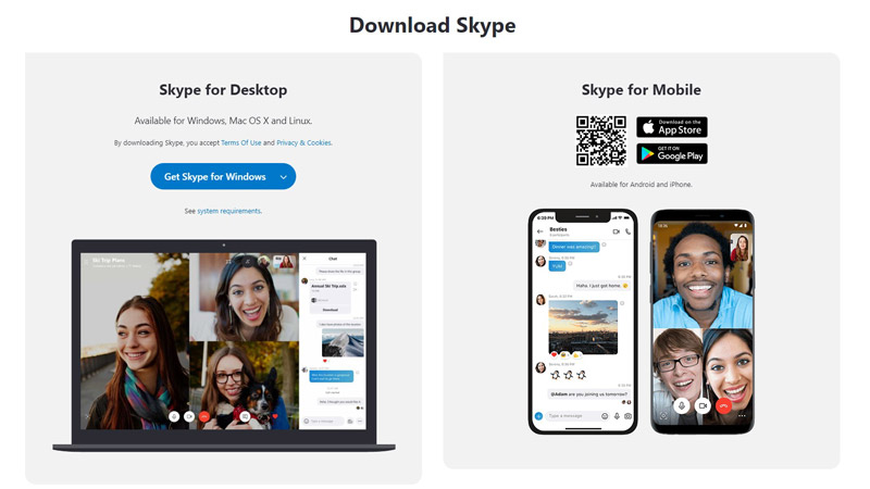 Video Interviews are often called Skype interviews due to use of Skype application.