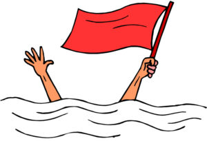 red flag drowning