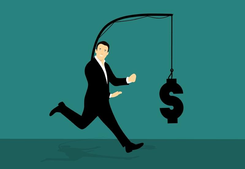 chasing-money-run-trying-catch-hook-