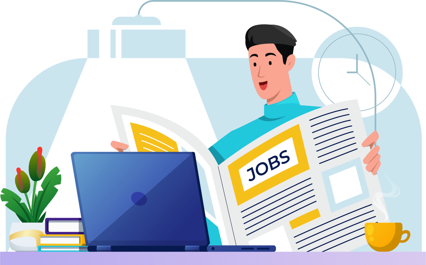 How to find a job header