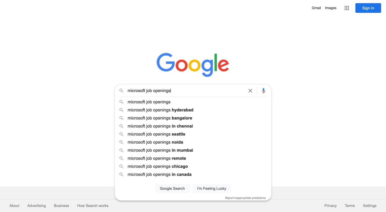 Microsoft job openings 1